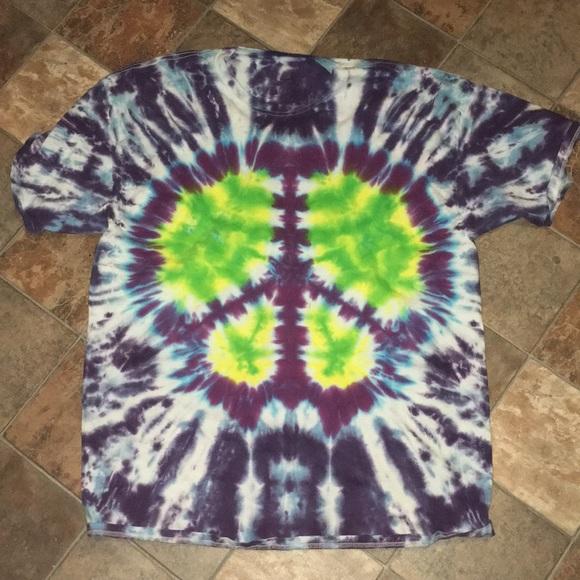 Hanes Shirts Trippy Tie Dye Shirt Poshmark